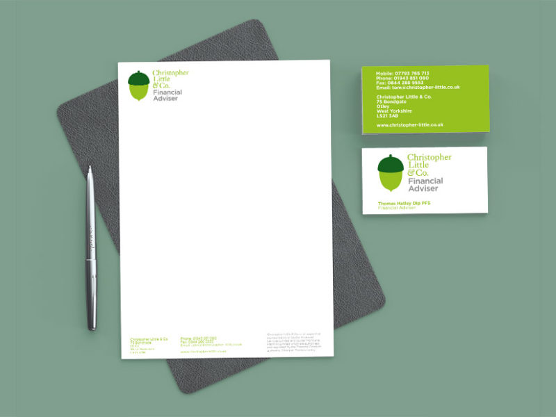 The Yorkshire Marketing Company - Christopher Little Stationary