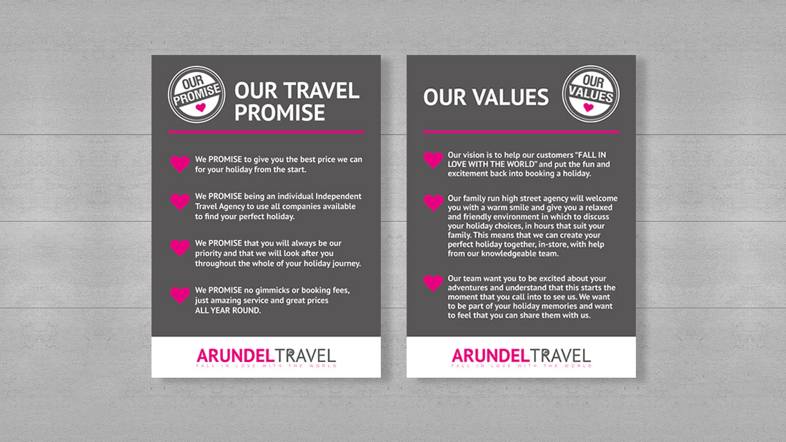 The Yorkshire Marketing Company - Arundel Travel