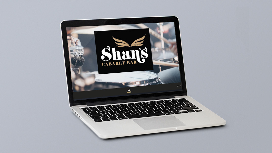 Shan's Cabaret Bar Website