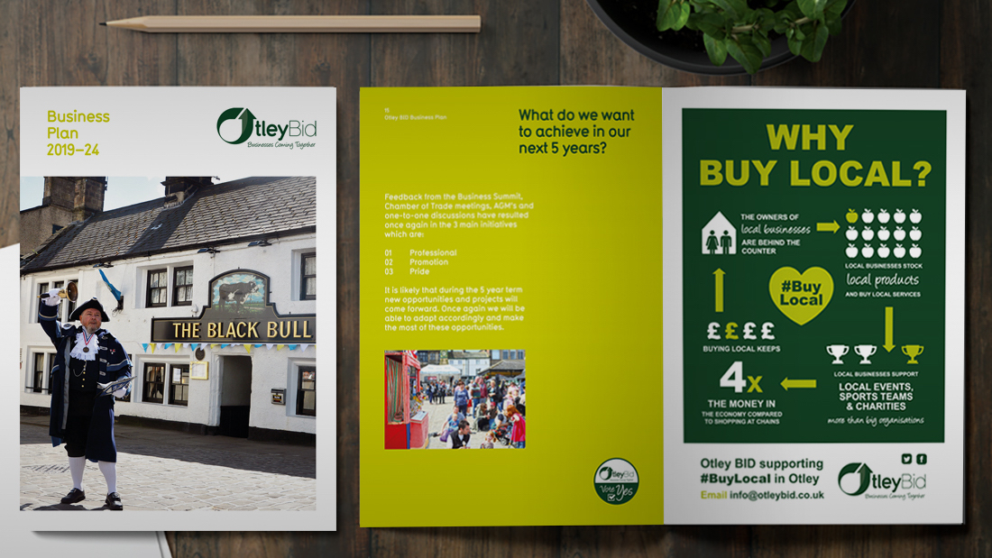 The Yorkshire Marketing Company design work