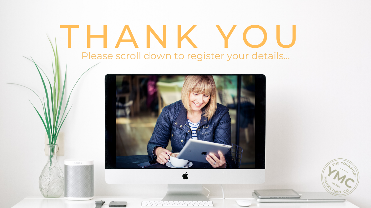 Marketing Mastery Club Thank You