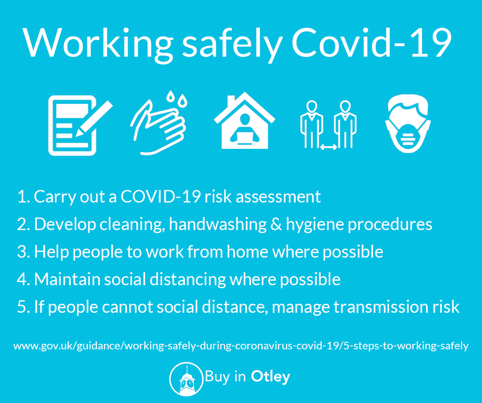 Working safely with Covid19